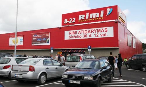 Kaune atidaryta jubiliejinė RIMI parduotuvė